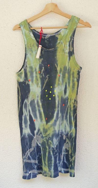 Tanktop Herren mit Neon-Sternbild der Plejaden