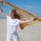 Gehäkeltes Leichtgewicht: zartes Dreieckstuch