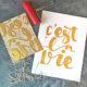 Lettering & Linoldruck