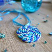 Amulett aus Fimo selber machen