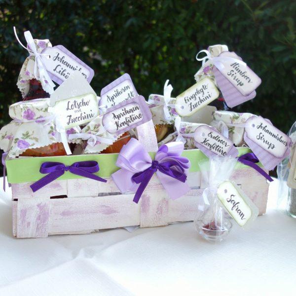 DIY Geschenkkorb selber basteln