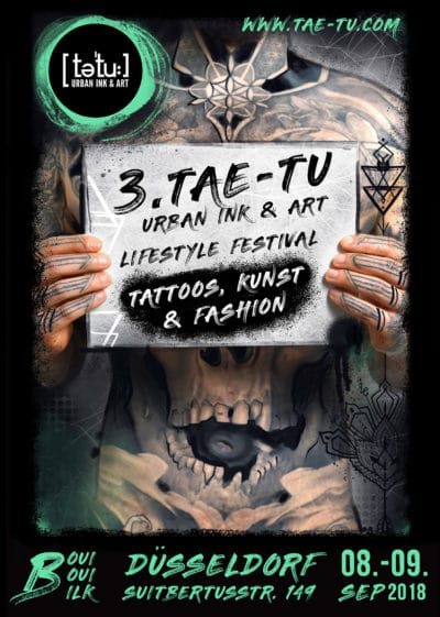 """ 3. tae-tu ""  urban ink & art Festival"