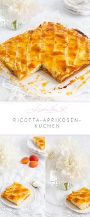"""""""Ricotta-Aprikosenkuchen und Geschichten die das Leben schreibt!"""""""
