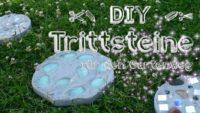 Trittsteine für den Gartenweg selber machen