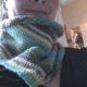 Drachenschwanzschal a la Hundertwasser