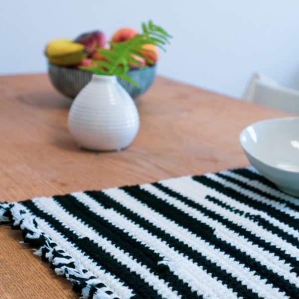 Tischset Häkeln Im Flicken Look Handmade Kultur