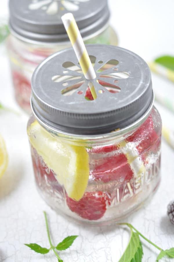Infused Water - erfrischendes Sommergetränk