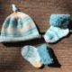 Fürs Baby Söckchen und Mütze