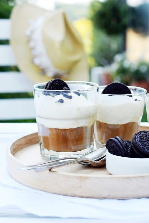 OREO-Affogato - köstlicher italienischer Eiskaffee - 3 Zutaten, in 3 Minuten fertig!