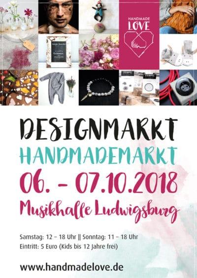 Handmade Love - Design und Handmademarkt in Ludwigsburg
