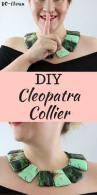 DIY Cleopatra Collier