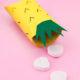 DIY Ananas Geschenkbox aus Papprollen basteln