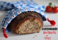 #zerowaste // Beutel für Broteinkauf nähen