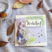 Herbstpost - Karte selber basteln