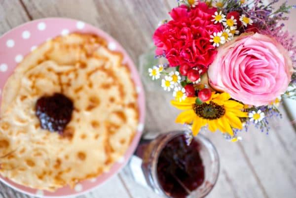 Zuckerfreie Pfannkuchen