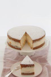 Käse Sahne Torte ganz klassisch gemacht