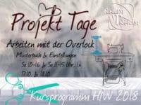 Nähkurs Projekt-Wochenende: Arbeiten mit der Overlock