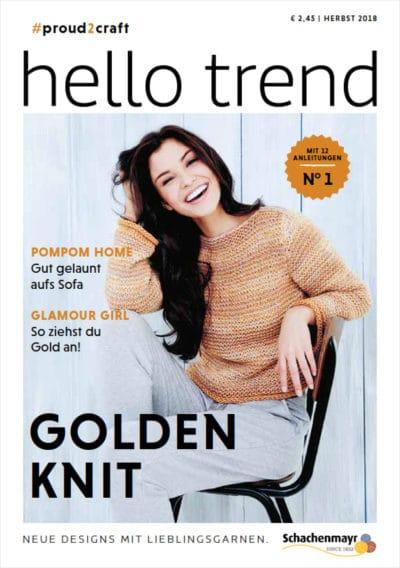 Hello Trend - Strickmagazin von Handmade Kultur