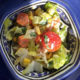 Gemischter Salat mit Burratadressing