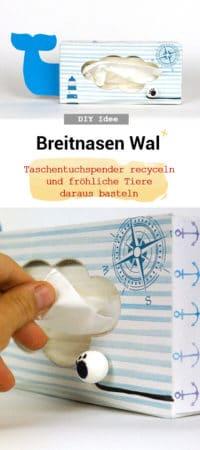 Breitnasen Wal Kosmetiktuchbox