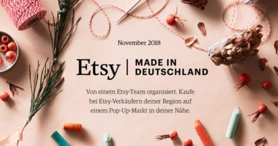 Etsy - Made in Deutschland Pop-up Shop Leipzig