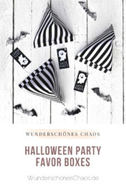 Let's Party - Halloween Favor Boxes