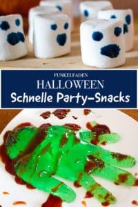 Einfache Snacks fürs Halloween-Buffet