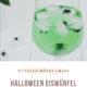 Halloween Eiswürfel zum Gruseln