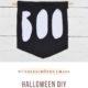 Halloween Deko – Boo-Banner aus Filz