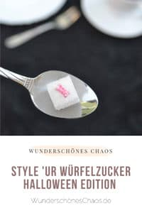 Style your Würfelzucker – Halloween Edition