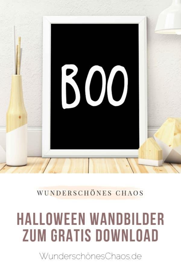 FREEBIE Boo-tiful Halloween Wandbilder