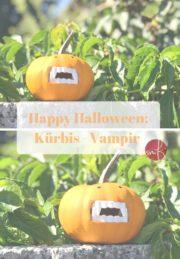 10 Minuten DIY: kleine Halloween-Vampire