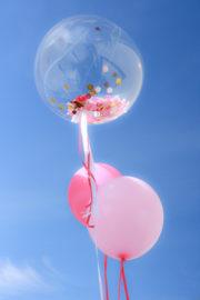 Konfetti und Ballons für deine Party