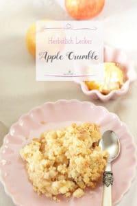 Apple Crumble und Apfelkuchengewürz