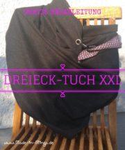 XXL Dreieck-Tuch selber nähen