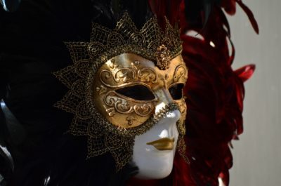 Venezianische Masken selbst gestalten – ein schönes Hobby.