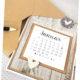 Tischkalender 2019 mit Notizblock