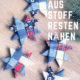 STERNE AUS STOFF NÄHEN | FALTSTERNE FÜR WEIHNACHTEN