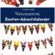 Rentier-Adventskalender nähen