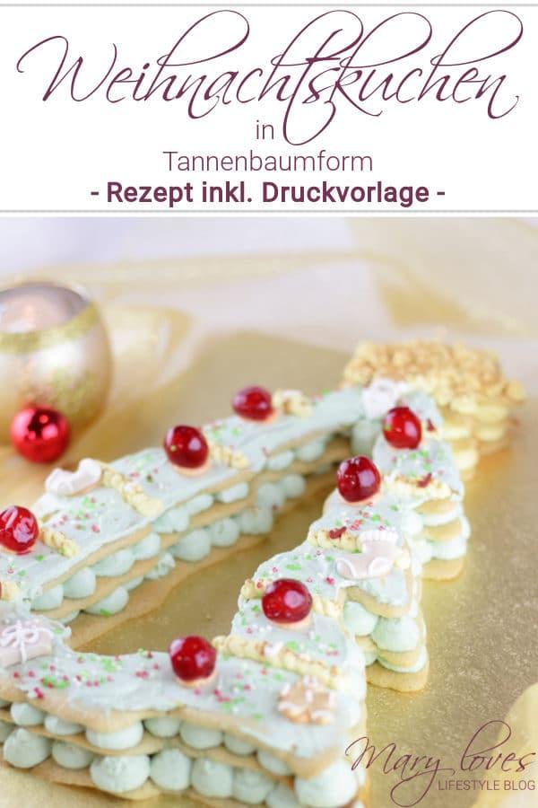 Christmas Tree Cake – Die weihnachtliche Variante vom Letter Cake