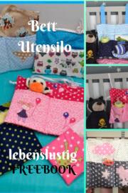 Freebook / Nähanleitung für einen Bett Utensilo