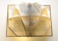 Buchskulpturen falten