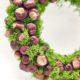 Herbstkranz selber machen - Basteln mit Kastanien