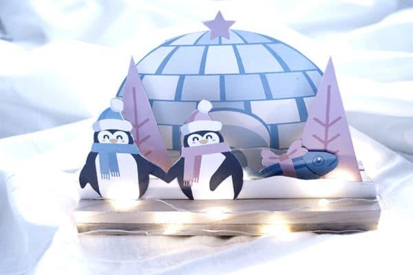 Weihnachtsdeko fürs Kinderzimmer