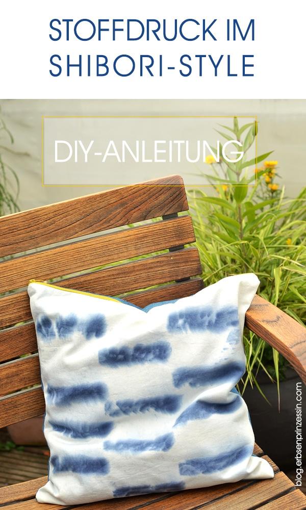 diy stoffdruck im shibori style handmade kultur. Black Bedroom Furniture Sets. Home Design Ideas