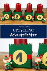 Upcycling Adventslichter aus TetraPacks