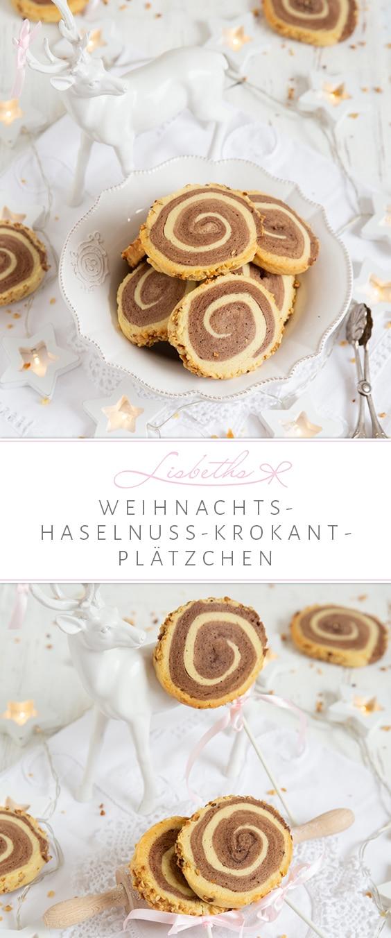 """""""Weihnachts-Plätzchen mit Haselnusskrokant"""""""