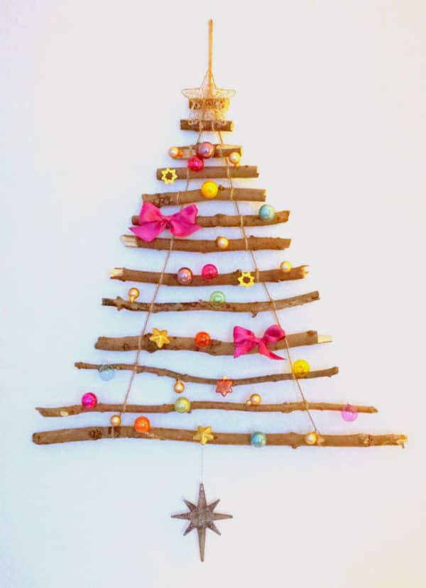 wiederverwendbarer weihnachtsbaum aus sten handmade kultur. Black Bedroom Furniture Sets. Home Design Ideas