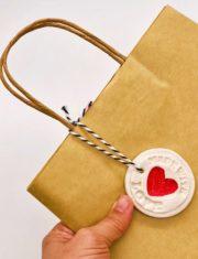 DIY Geschenke Anhänger aus Salzteig