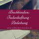Buchbindung mit Fadenheftung: Französischer Kreuzstich
